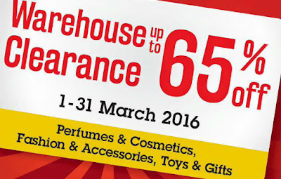 Malaysia Airports Warehouse Clearance Sale