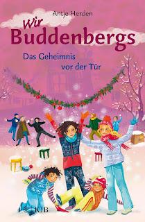 """Trubelige, abenteuerliche Vorweihnachtszeit mit dem Kinderbuch  """"Wir Buddenbergs. Das Geheimnis vor der Tür"""" von Antje Herden"""