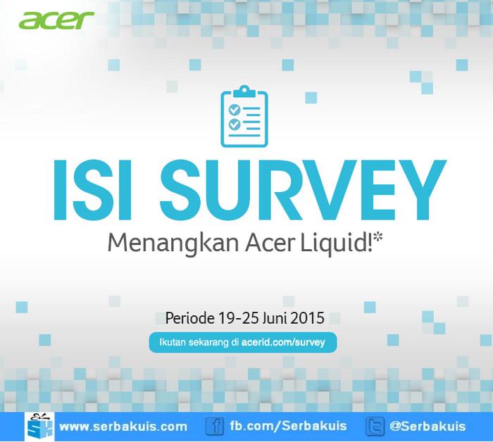 Kuis Survey Windows Phone Berhadiah Acer Liquid M220