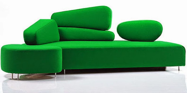 green sofa modern design amazing Modern Sofa And Couch Designs 2