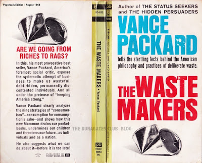 THE WASTE MAKERS - best=selling book by Vance Packard