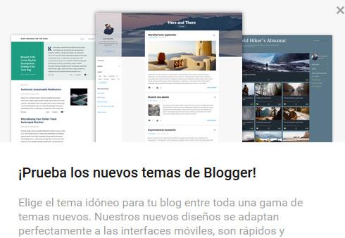 4 nuevas Plantillas Blogger Responsive Oficiales 2017