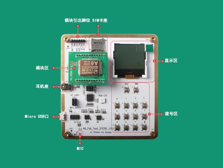 AI-thihker Wireless Module Expert: AI-thihker A6 GPRS /GSM Module