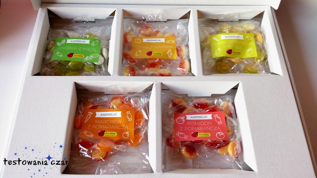 testujemy, Biedronka, karmelki, słodycze, cukierki, owocowe cukierki