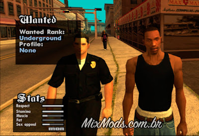 wanted profile mod cleo gta sa cops stats