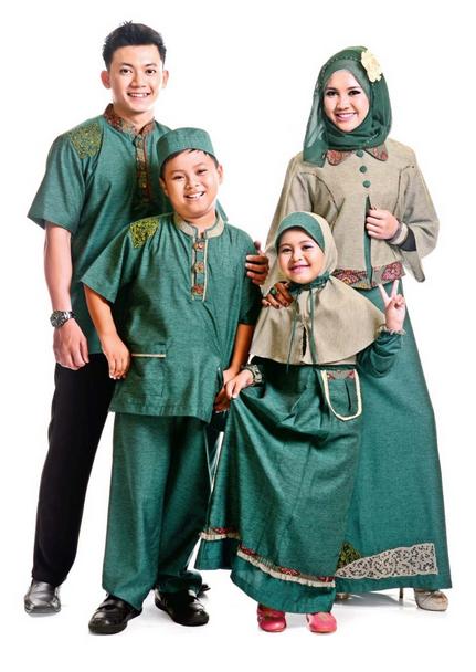 Koleksi Model Baju Muslim Terbaru Untuk Keluarga