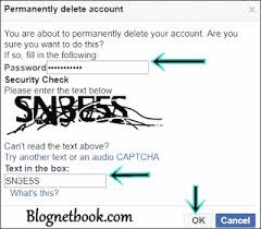 delete facebook accout permanetly