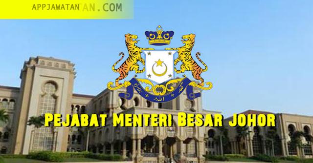 Jawatan Kosong di Pejabat Menteri Besar Johor