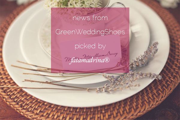 Jane Austen Inspiration Green Wedding Shoes