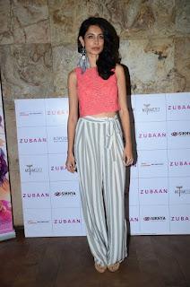Actress Sarah Jane Dias Pictures at Zubaan Movie Screening 0003