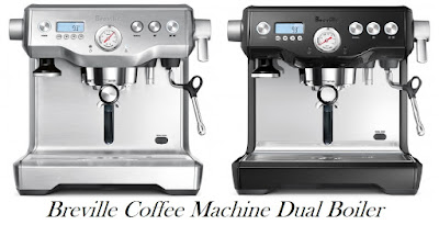 Breville Coffee Machine Dual Boiler