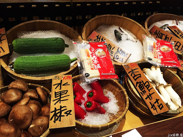 IMG 9623 - 【台中美食】來自日本傳統好滋味的 樂座端爐燒 @日本古早味@新鮮海鮮@新鮮蔬果~