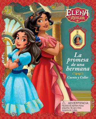LIBRO - DISNEY Elena de Avalor  La Promesa de Una Hermana   (Cuento y Collar) [18 Octubre 2016]  INFANTIL | Comprar en Amazon España