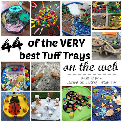 Tuff Tray set ups. Tuff Tray inspiration.