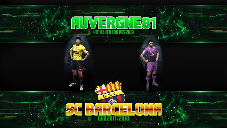 PES 2013 S.C. Barcelona GDB 2017/2018 by Auvergne81