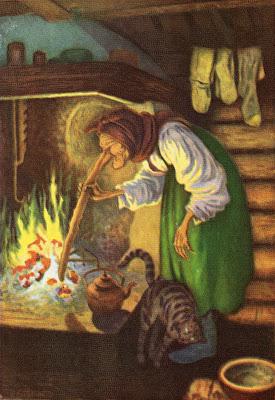 Norvège Théodor Kittelsen : un personnage traditionnel du conte norvégien, la sorcière au long nez