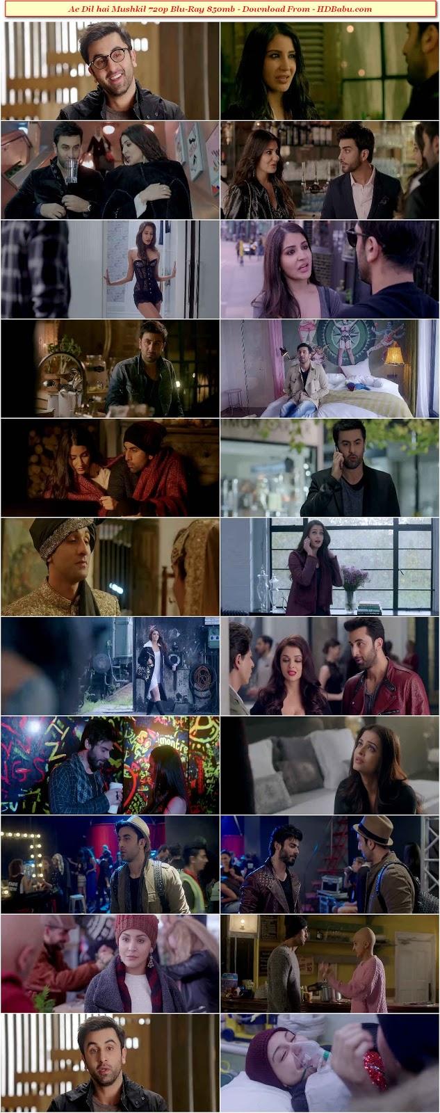 Ae Dil Hai Mushkil Blu-Ray Download