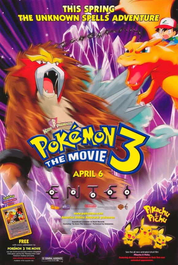 Pokémon 3: Đế Vương Của Tháp Pha Lê Entei - Pokémon 3: The Movie (2000)