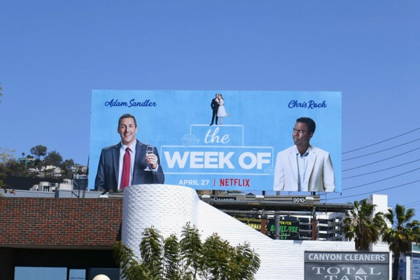 The Week Of movie billboard