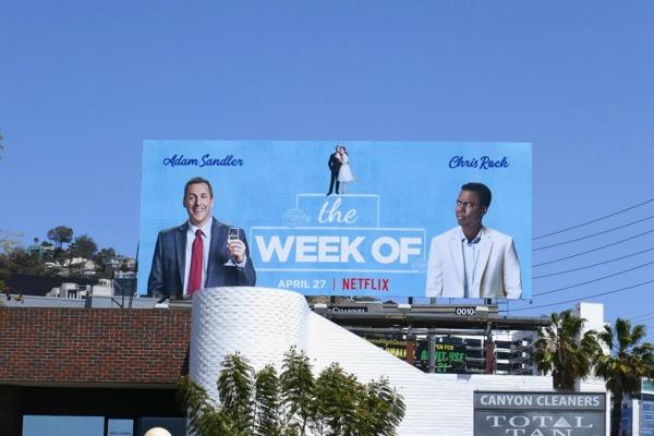 The Week Of movie billboard