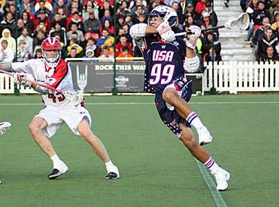 Paul Rabil Lacrosse shot