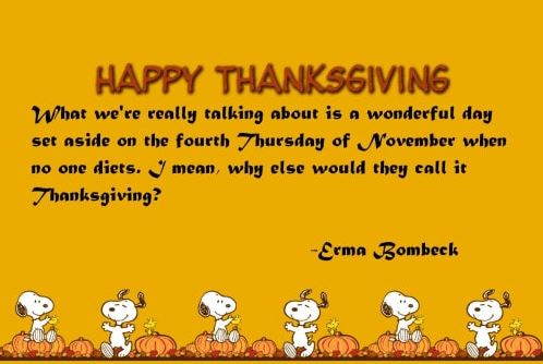 Funny Happy Thanksgiving Wishes