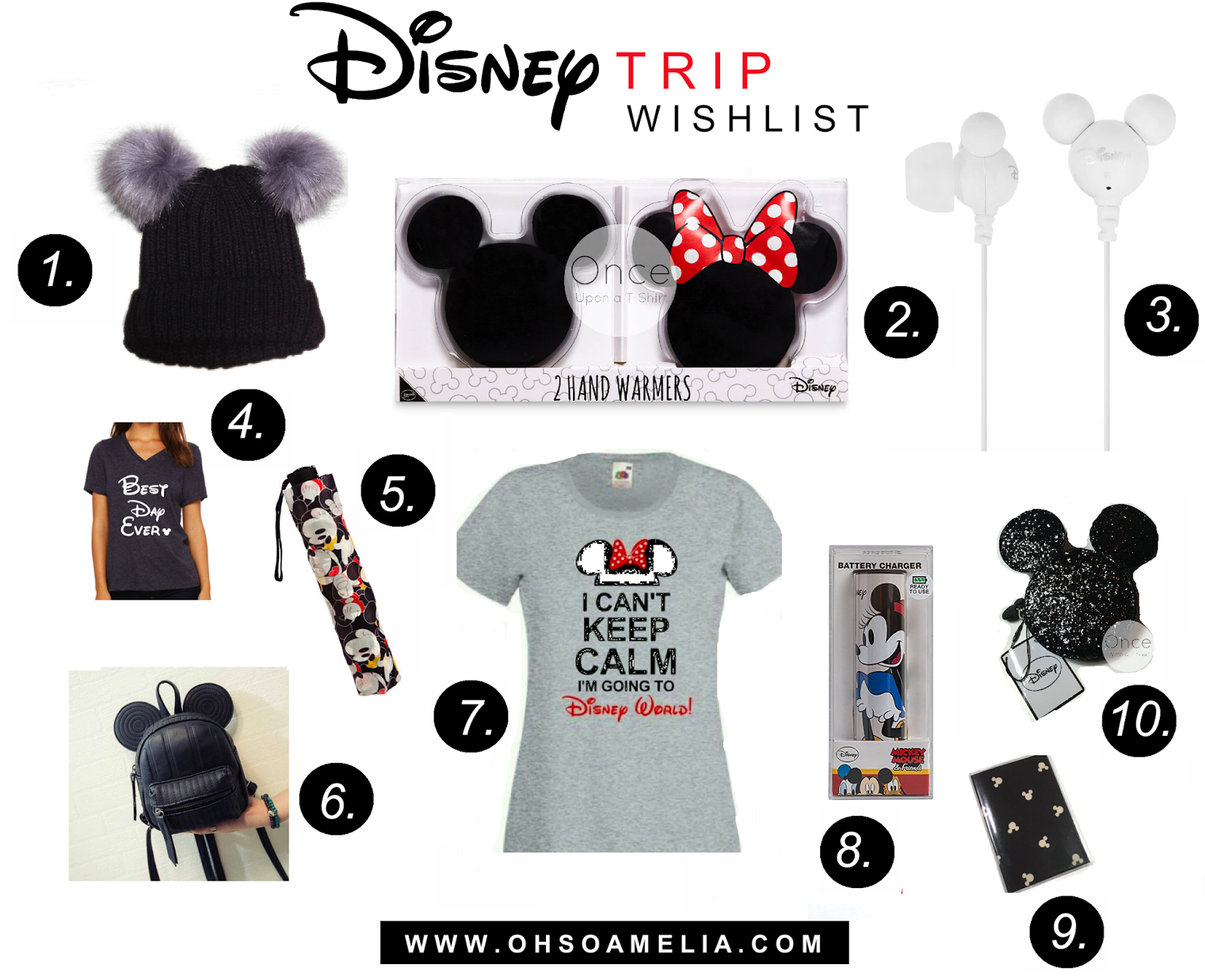 Disney essentials and favourites