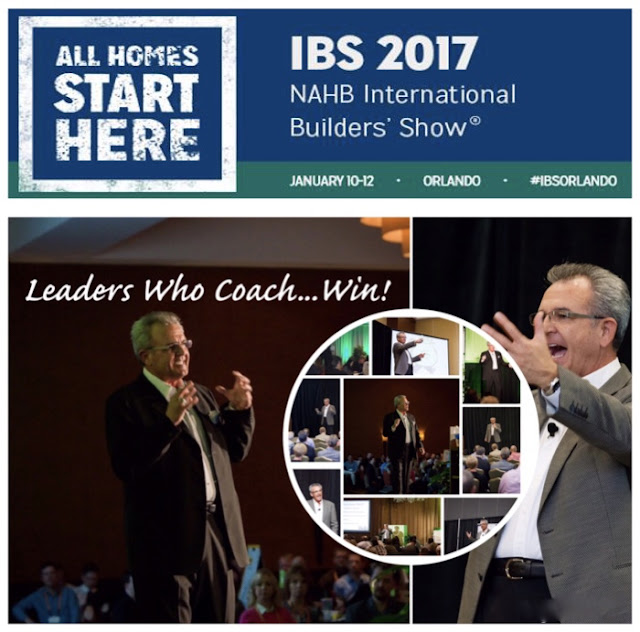 Moore leadership peak performance for 2017 nahb international builders show