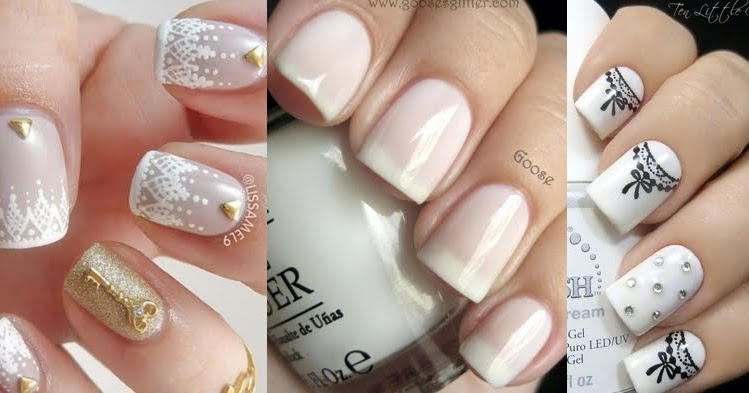 Beautiful Nail Art Ideas In White