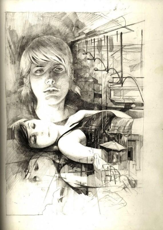 Рисунки Wesley Burt 7