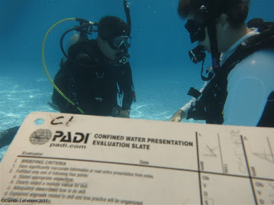 PADI IDC for June 2017 on Phuket has reached the halfway mark