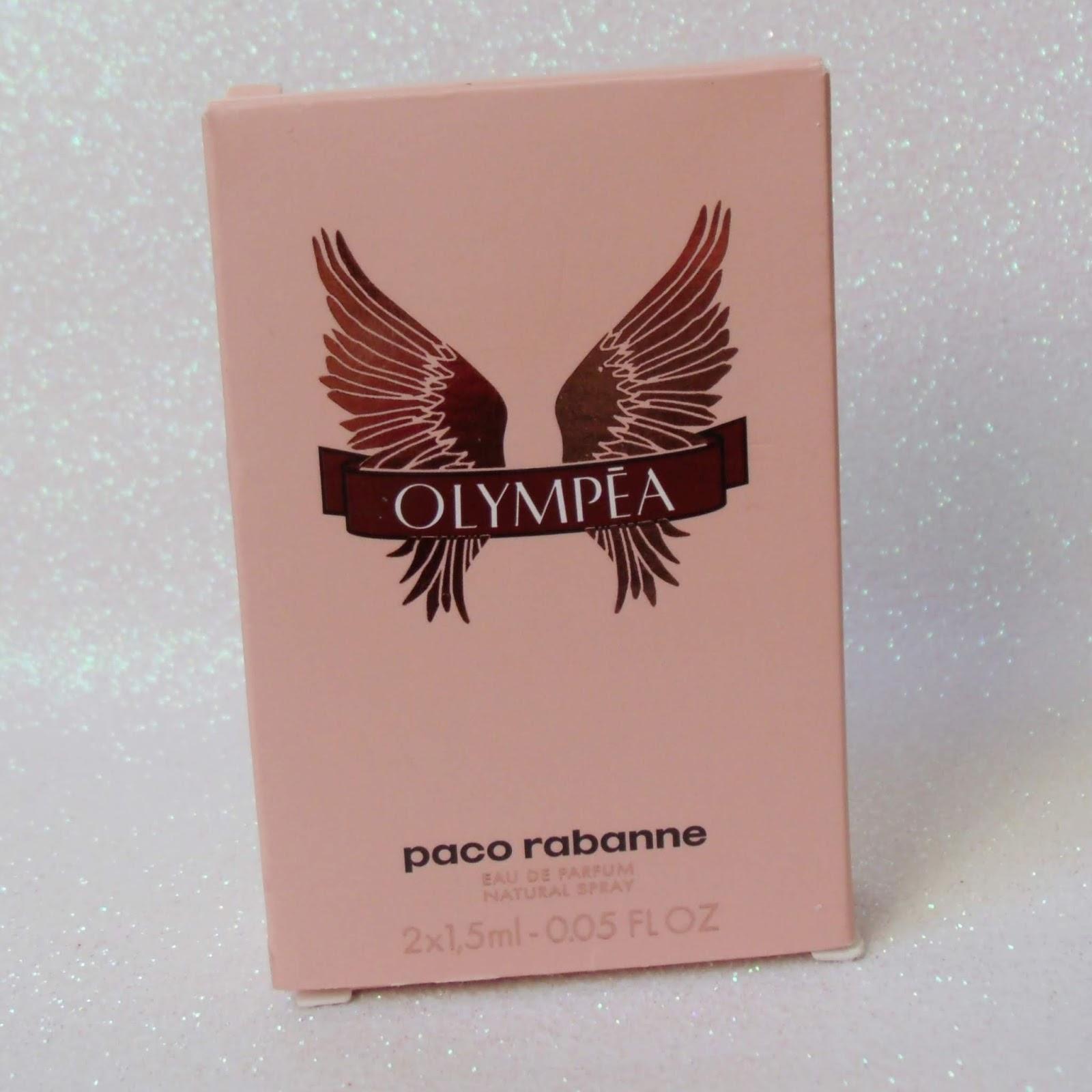 TESTEI E GOSTEI: PERFUME OLYMPÉA DA PACO RABANNE.