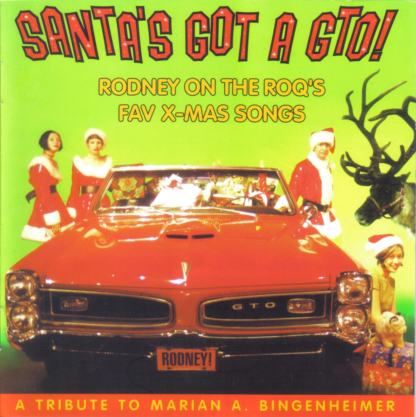 roots and traces: spurensicherung: SANTA'S GOT A GTO! rodney