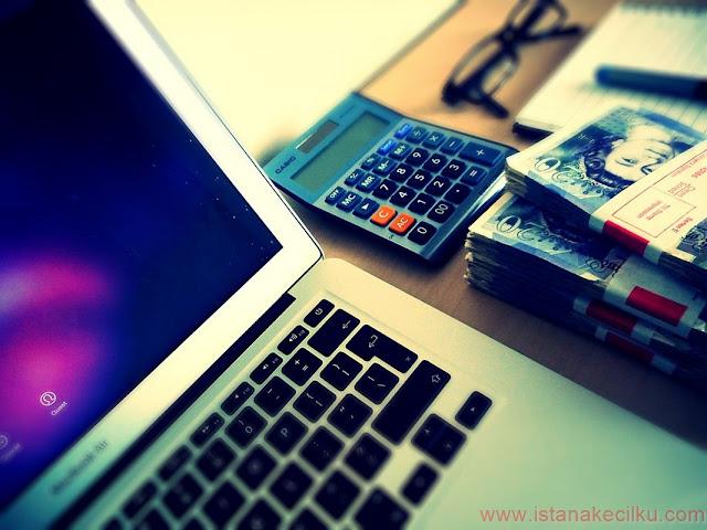 Aktifitas blogging menghasilkan uang