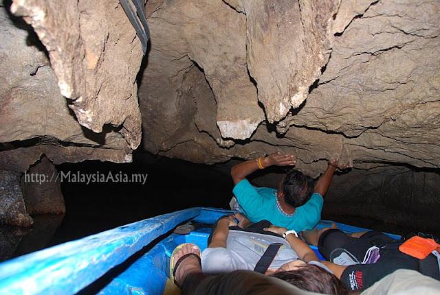 Boat Ride in Khao Kop Cave