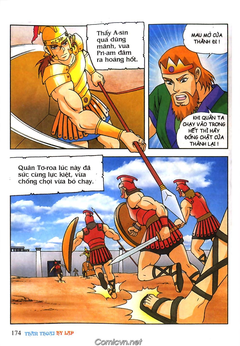 Thần Thoại Hy Lạp Màu - Chapter 61: So tài của hai vị tướng - Pic 3