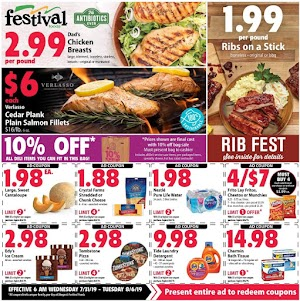 Festival Foods Weekly Sales Ad July 31 - August 6, 2019