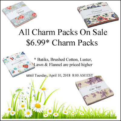 Two Charm Packs And A Jelly Roll