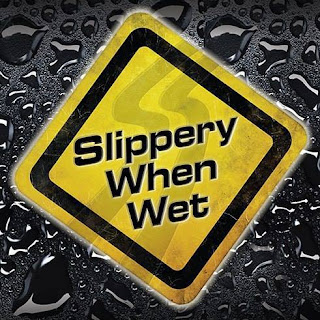 Slippery When Wet Australia - The Bon Jovi Tribute Show logo.