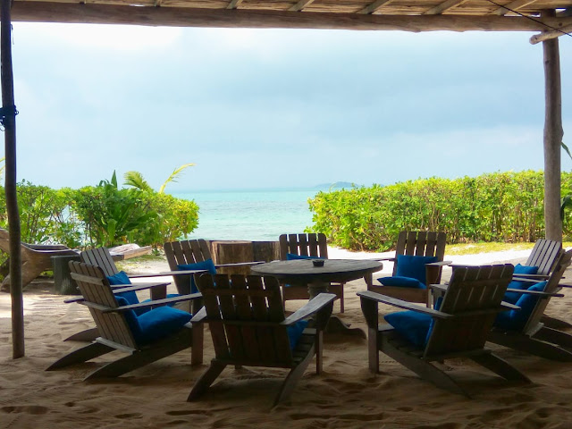 dining area  Pangkil Island