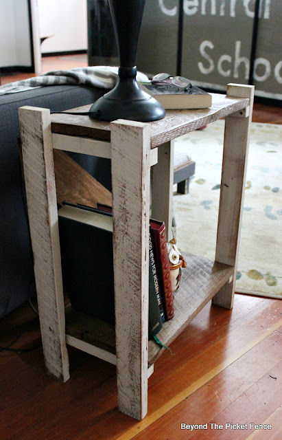 side table, rustic, barnwood, build it, reclaimed wood, farmhouse, end table,https://goo.gl/HQ8AGd