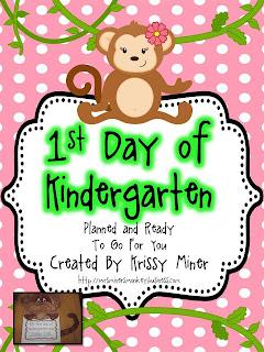 Mrs  Miner's Kindergarten Monkey Business: Tips for Planning