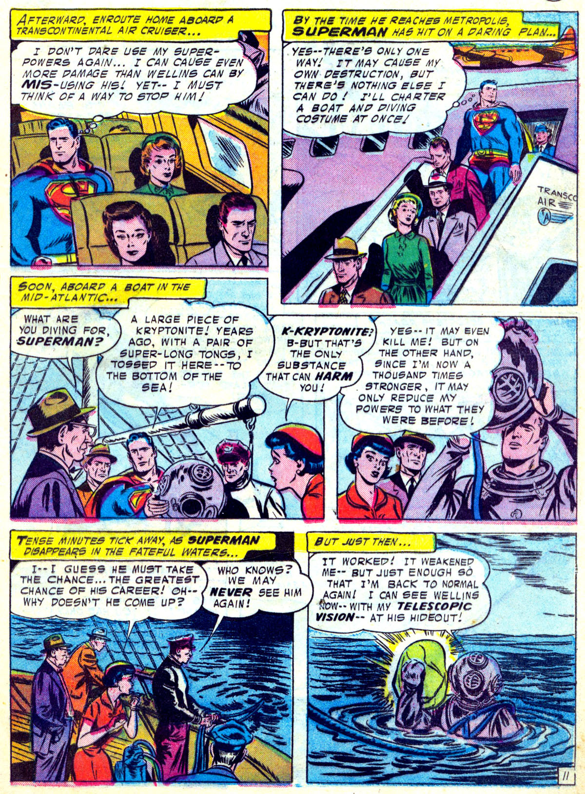 Read online Action Comics (1938) comic -  Issue #230 - 13