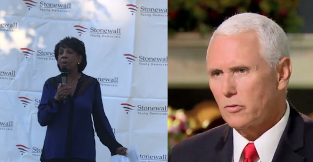 Maxine Waters Announces Special Plans For Mike Pence After She Impeaches Trump (Video)