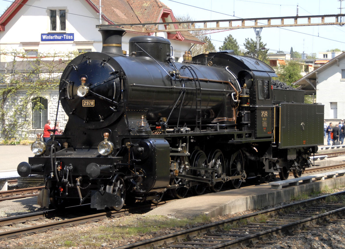 "Dampflokomotive C 5/6 2978 ""Elefant"""