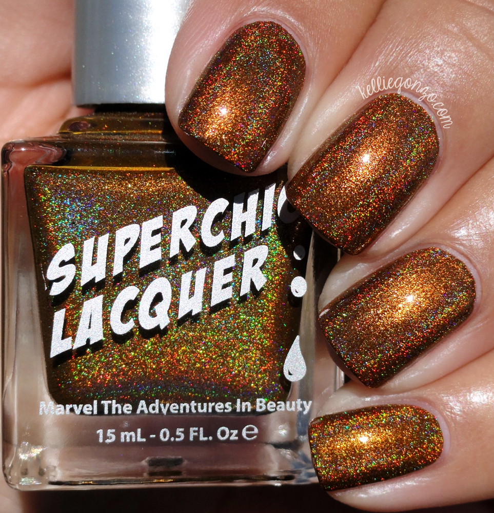SuperChic Lacquer Rum-Billie