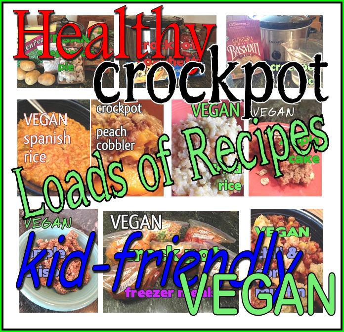 What Vegan Kids Eat: VEGAN Crock Pot