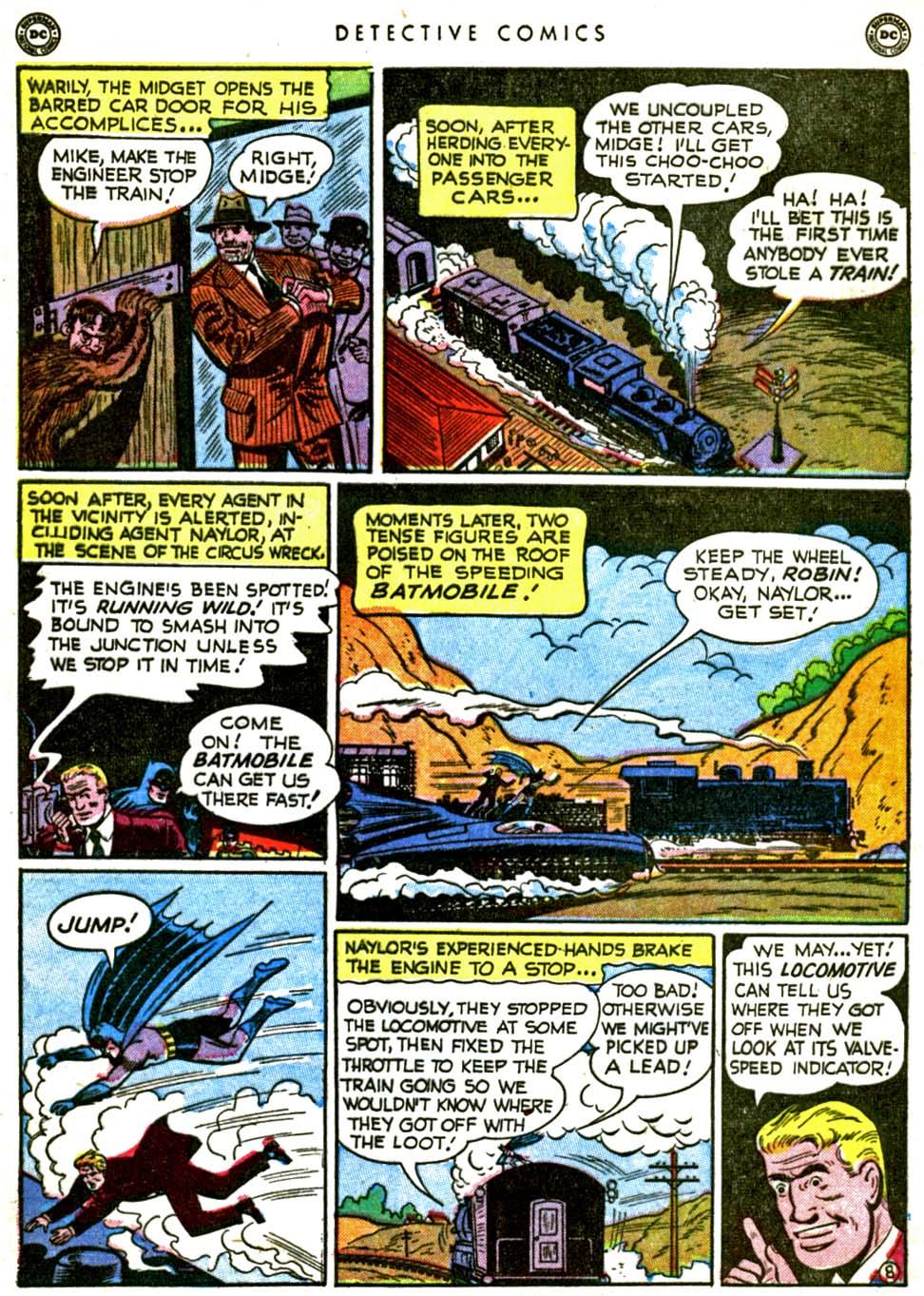Read online Detective Comics (1937) comic -  Issue #162 - 10
