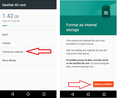 How to Format SD Card as Internal Storage in Android,how to format sd card as internal storage,format as internal storage,use sd card as internal storage,use memory card as phone storage,external to internal storage,memory card format,format as phone internal storage,how to format as internal storage,no option,marshmallow,storage & usb,Format as internal,use external storage as internal,how to make internal storage,android phone,moto g phones How to Format SD Card as Internal Storage in Android Phone Format Memory SD Card as Internal Storage in Android Phone.