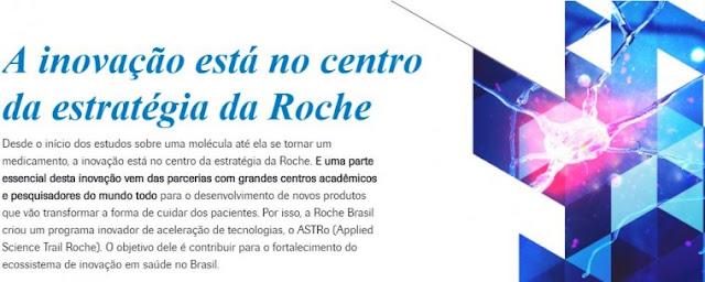 Roche Farma - ASTRo | Inscrições abertas: programa de aceleração de grupos de pesquisa com foco em saúde